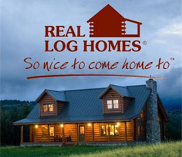 Log home floor plans from Real Log Homes