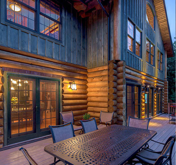 Top of the line logs and building materials for log homes