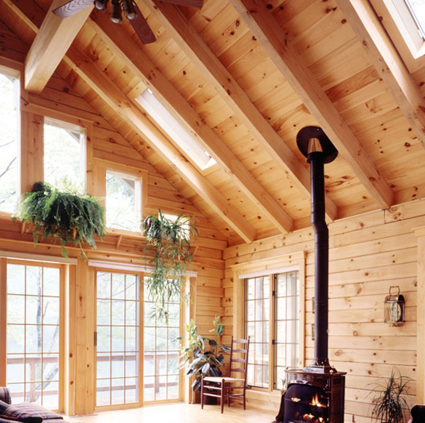Square Timber Roof Rafters