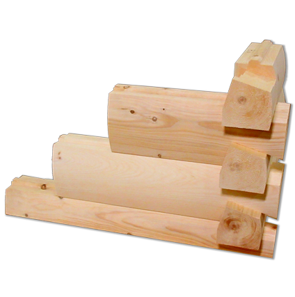 V-Groove Dovetail Log Profile